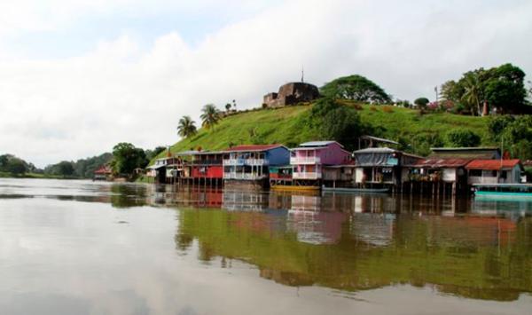 El castillo rio san juan
