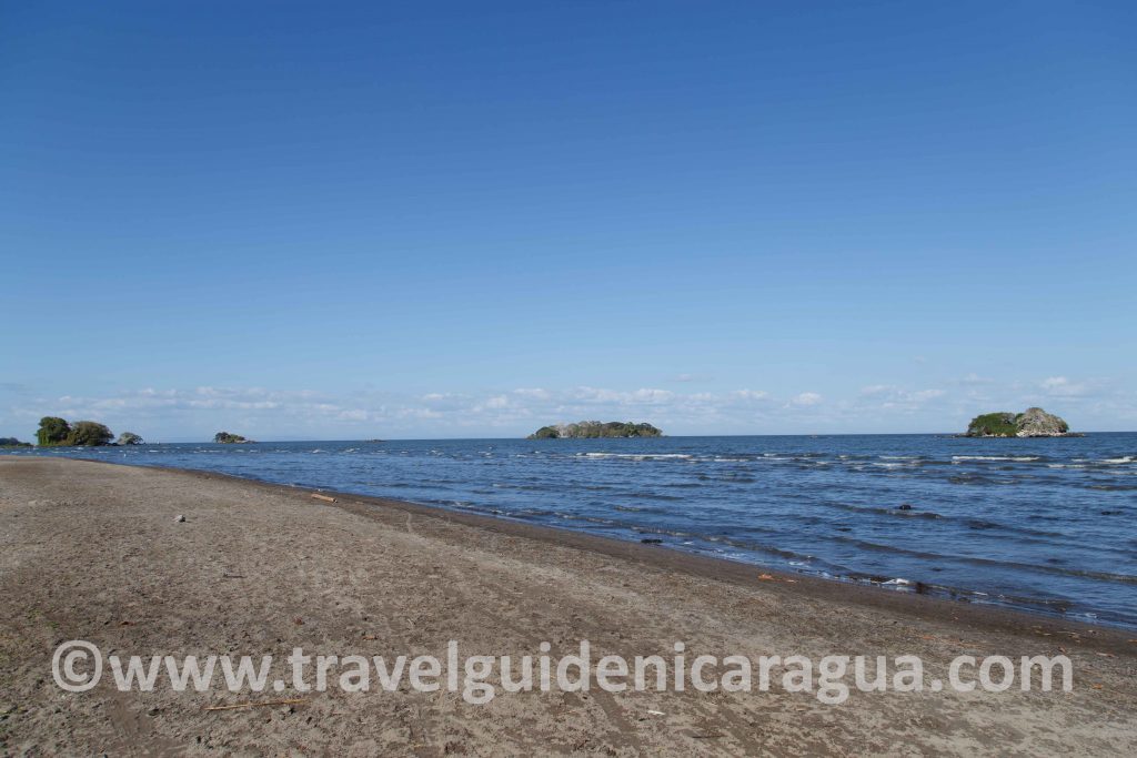 playa santo domingo ometepe